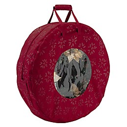 Classic Accessories® Seasons Wreath Storage Bag in Cranberry