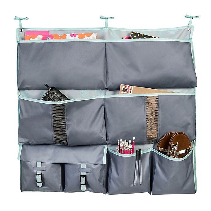 Alternate image 1 for Honey-Can-Do® 2-in-1 Bed Organizer