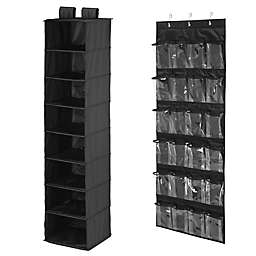 Honey-Can-Do® 2-Piece Closet Organization Kit