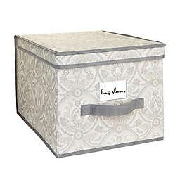 Laura Ashley® Almeida Large Storage Box in Grey