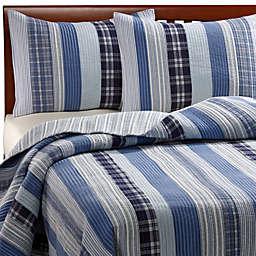 Montego Blue Quilted Standard Sham