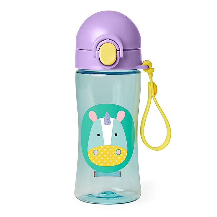 Alternate image 1 for SKIP*HOP® Zoo Lock-Top Unicorn Sports Bottle
