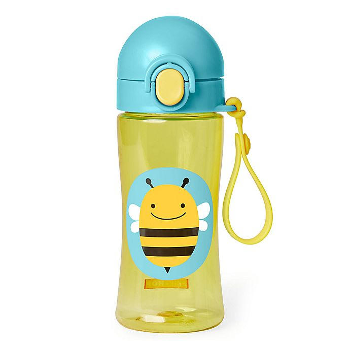 Alternate image 1 for SKIP*HOP® Zoo Lock-Top Bee Sports Bottle