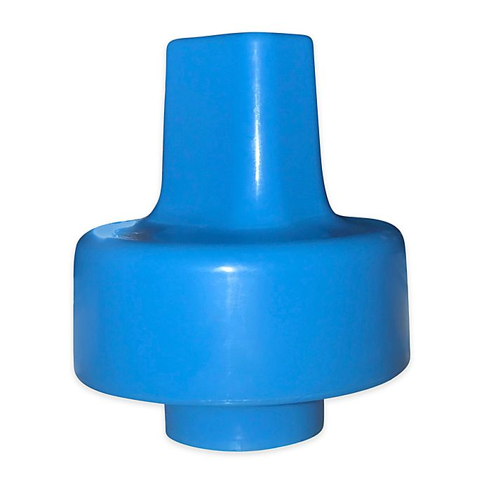 Alternate image 1 for Refresh-a-Baby™ Universal Sippy Top Adapter in Blue