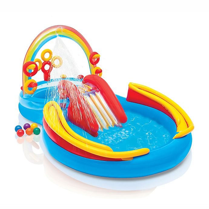 Alternate image 1 for Rainbow Ring Play Center Pool