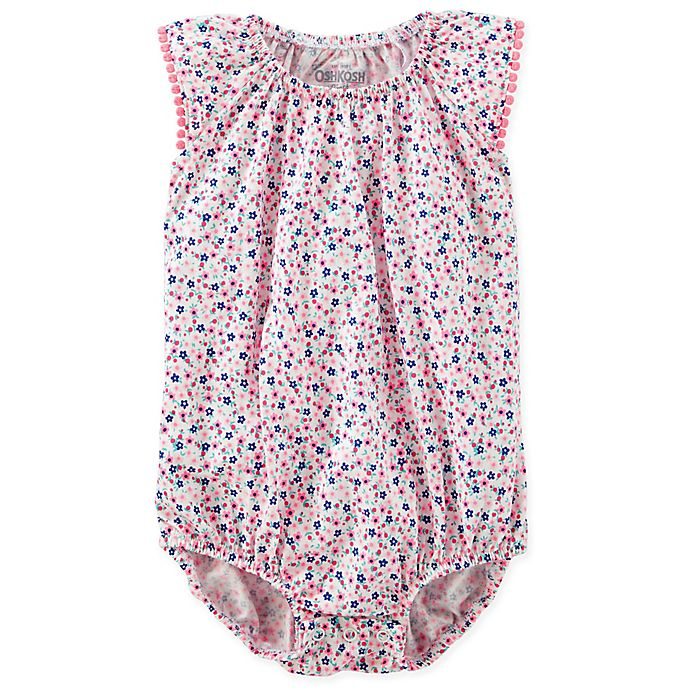 42865ca1573b OshKosh B gosh® Floral Ruffle Sleeve in Pink Blue