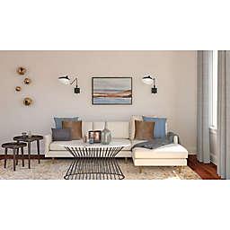 Chic Mid-Century Living Room