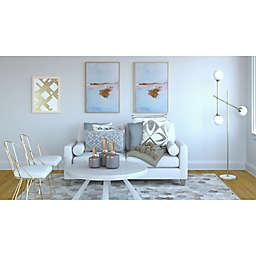 Pretty and Polished Coastal Living Room