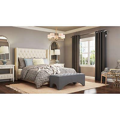Polished and Plush Bedroom