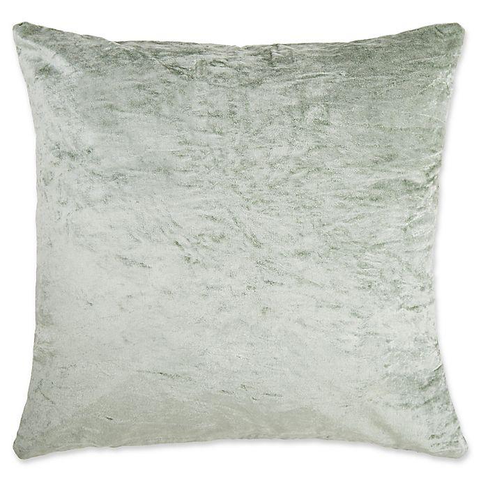 Tink Velvet Square Throw Pillow Cover