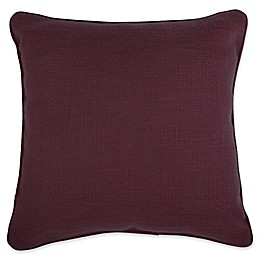 Make-Your-Own-Pillow Dana Square Throw European Pillow Cover in Purple