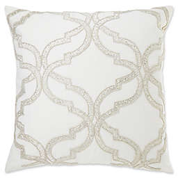 Make Your Own Pillow Diana Square Throw Cover In Cream
