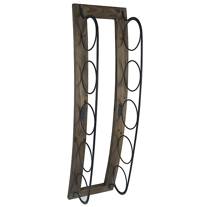 Stylecraft Artistic Woodmetal Wall Mount Wine Rack Bed Bath Beyond