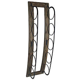 Stylecraft Artistic Wood/Metal Wall Mount Wine Rack