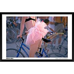 Daniel Furon's Ballerina Biker 25-Inch x 37-Inch Wall Art