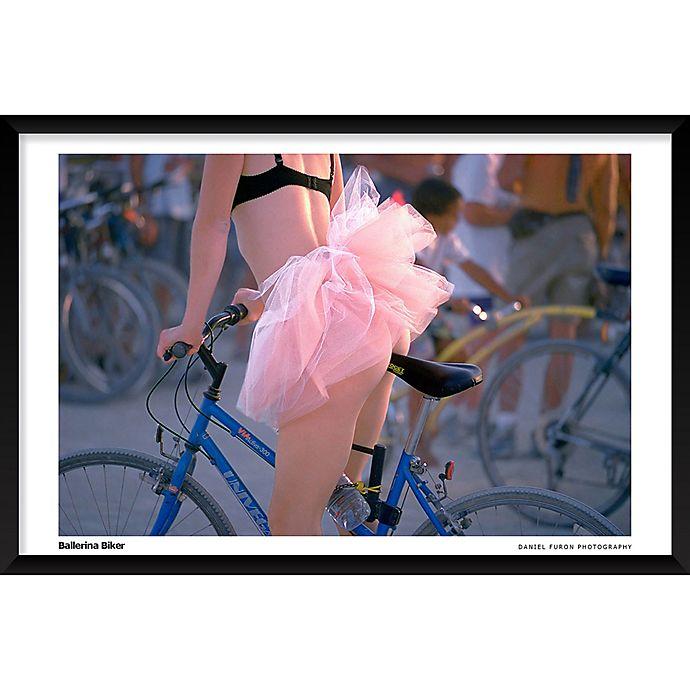 Alternate image 1 for Daniel Furon's Ballerina Biker 25-Inch x 37-Inch Wall Art