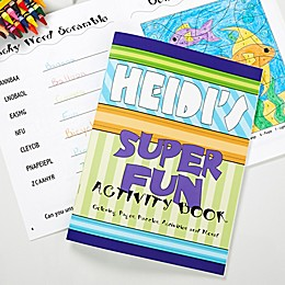 Super Fun Coloring Activity Book & Crayon Set