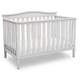 Delta Children Independence 4-in-1 Convertible Crib in White