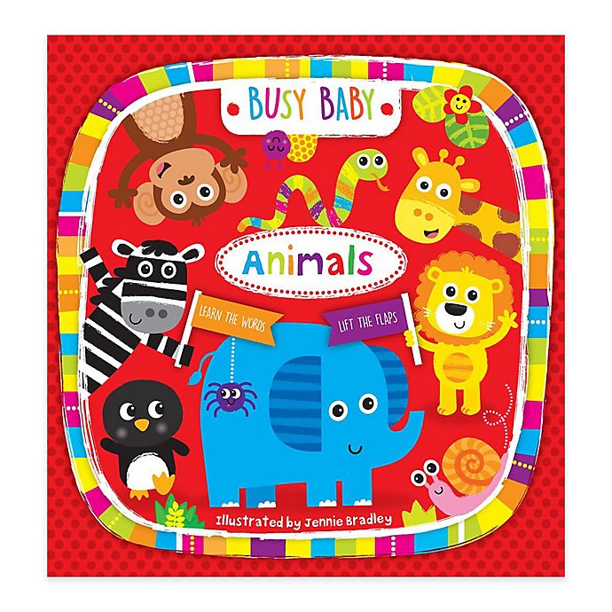 """""""Busy Baby: Animals"""" by Nick Ackland 