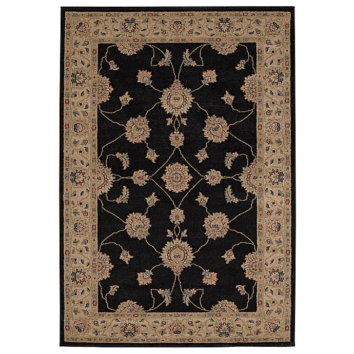 Balta Home Florence Area Rug in Black