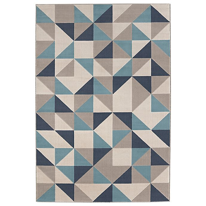 Alternate image 1 for Balta Home Paterson 7'10 x 10' Area Rug in Navy/Light Blue