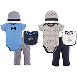 Hudson Baby® Size 0-6M 8-Piece Grow with Me Clothing Set in Grey/Blue