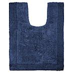 Wamsutta® Ultra Fine Reversible Contour Bath Rug in Denim Blue