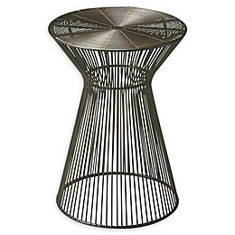 Butler Specialty Company Greeley Metal Accent Table in Black