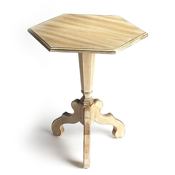 Alternate image 1 for Butler Specialty Company Corbin Drfitwood Hexagonal Accent Table in Driftwood