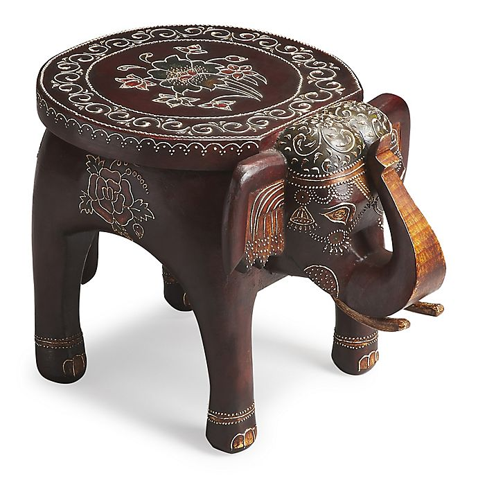 Alternate image 1 for Butler Specialty Company Botswana Hand-Painted Accent Table