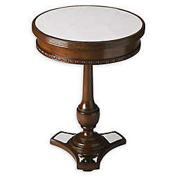 Butler Specialty Company Adele Mirror and Mahogany Accent Table