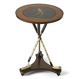 Butler Specialty Company Nineteenth Hole Round Golf Accent Table
