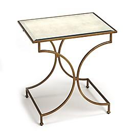 Butler Specialty Company Esperanza End Table in Antique Gold