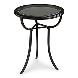 Butler Danley Transitional Accent Table in Black