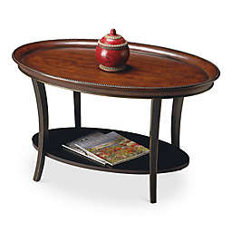 Butler Hamlet Cafe Noir Oval Coffee Table