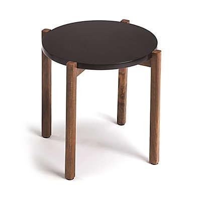 Butler Del Mar Modern End Table in Black