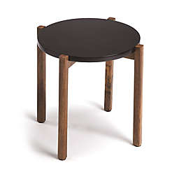 Butler Del Mar Modern End Table in Black