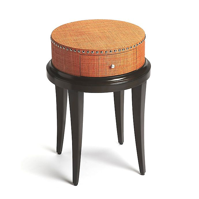 Butler Hat Box Modern Accent Table