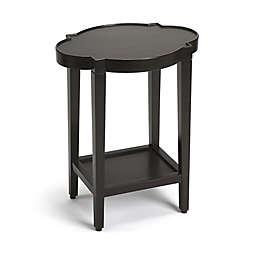 Butler Jobert Quatrefoil End Table in Black
