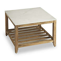 Brayden Marble Bunching Coffee Table in Natural