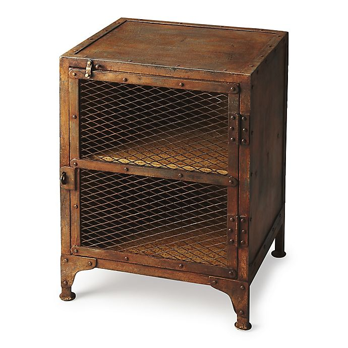 Alternate image 1 for Butler Specialty Company Lucas Industrial Chic Chairside Chest