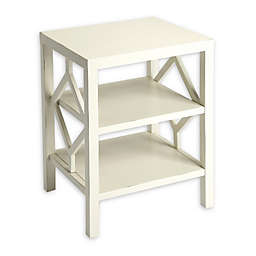 Butler Halcyon End Table in White