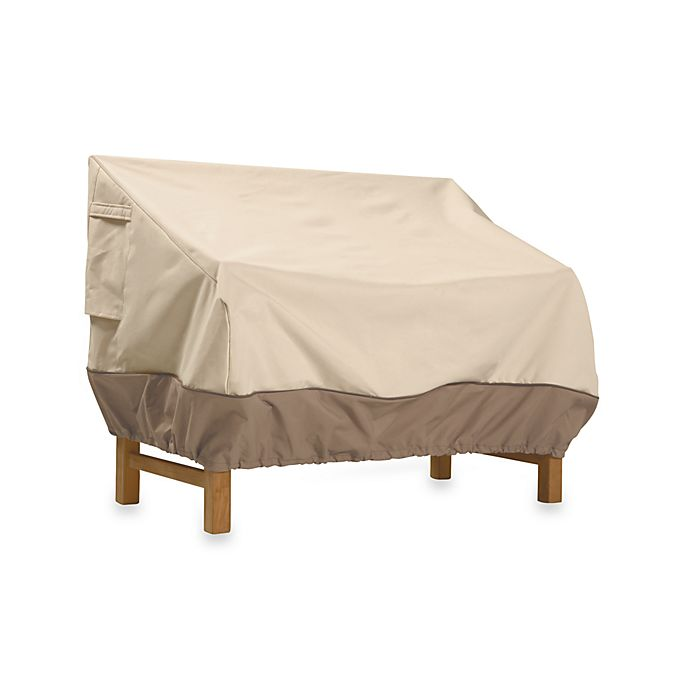 Alternate image 1 for Classic Accessories® Veranda Small Patio Loveseat and Bench Cover
