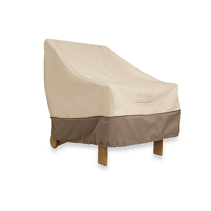 Alternate image 1 for Classic Accessories® Veranda Lounge Chair Cover in Pebble