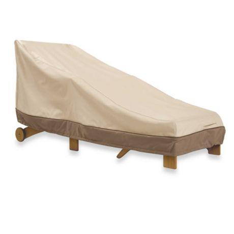 Classic Accessories 174 Veranda Wide Chaise Lounge Cover