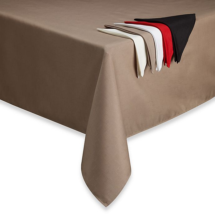 Alternate image 1 for Basics Solid Tablecloth