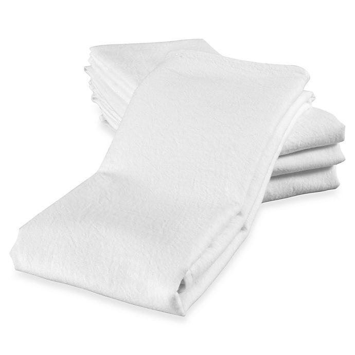 Alternate image 1 for Real Simple® Flour Sack Towels (Set of 4)