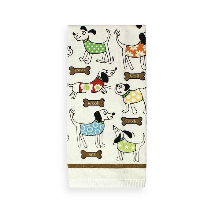 Bone Ee Print Kitchen Towel Bed