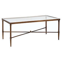 Madison Park Signature Porter Rectangle Coffee Table in Bronze