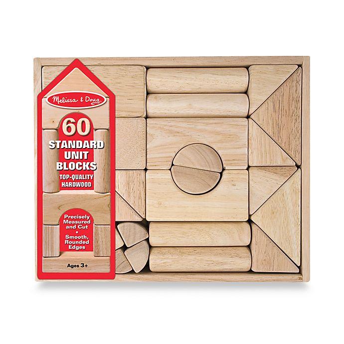 Alternate image 1 for Melissa & Doug® Wooden Standard Unit Blocks